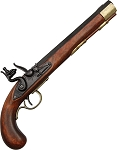 DX1136L Kentucky Flintlock Pistol